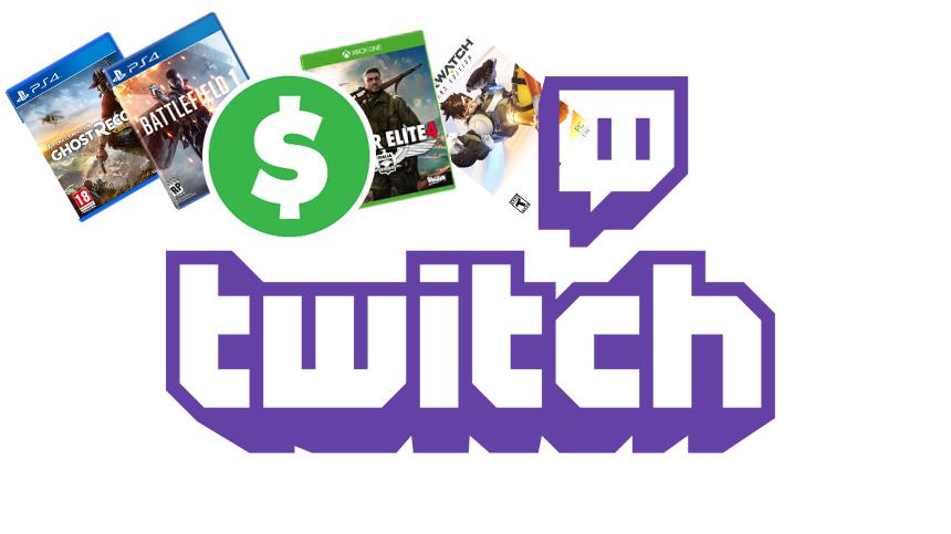 twitch vinde jocuri