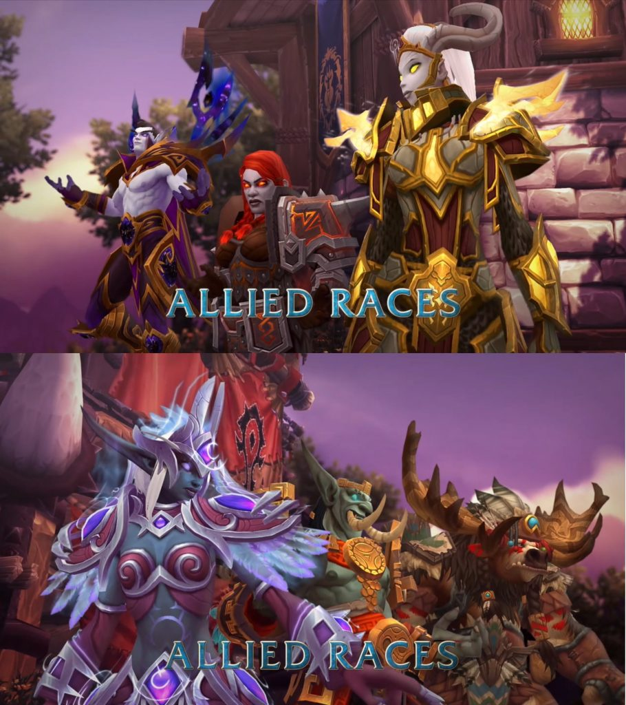 Battle for Azeroth Subraces