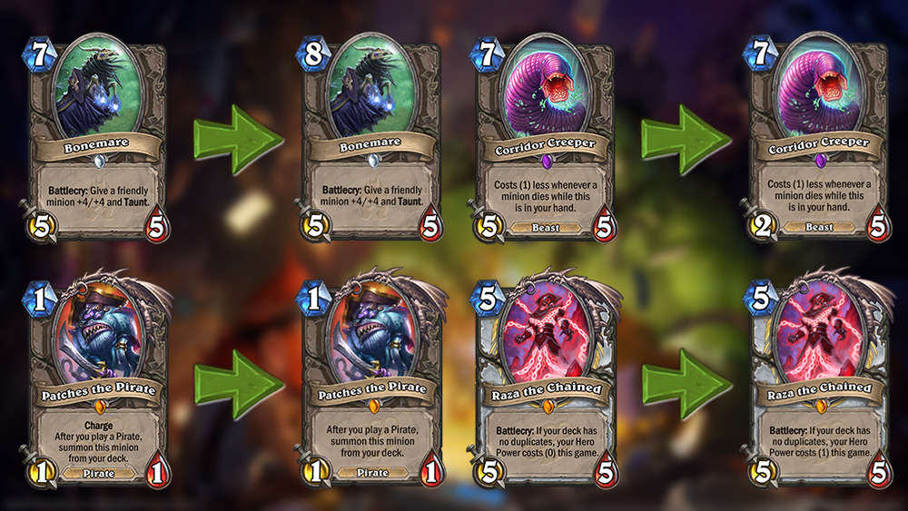 Hearthstone nerf patch 10.2