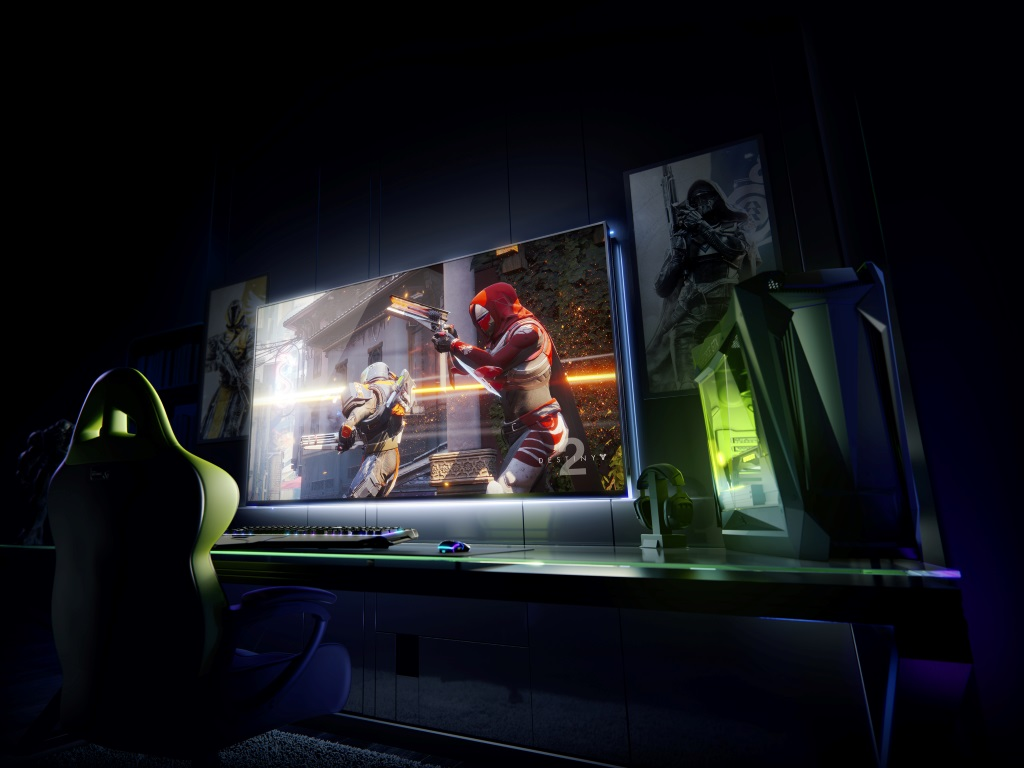 nvidia bfgd Big format gaming display