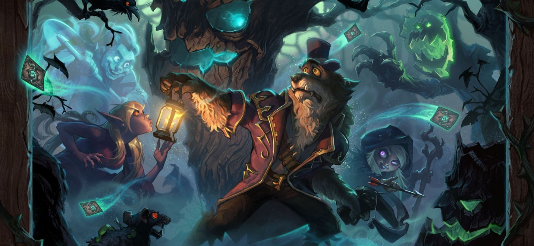 The Witchwood Hearthstone
