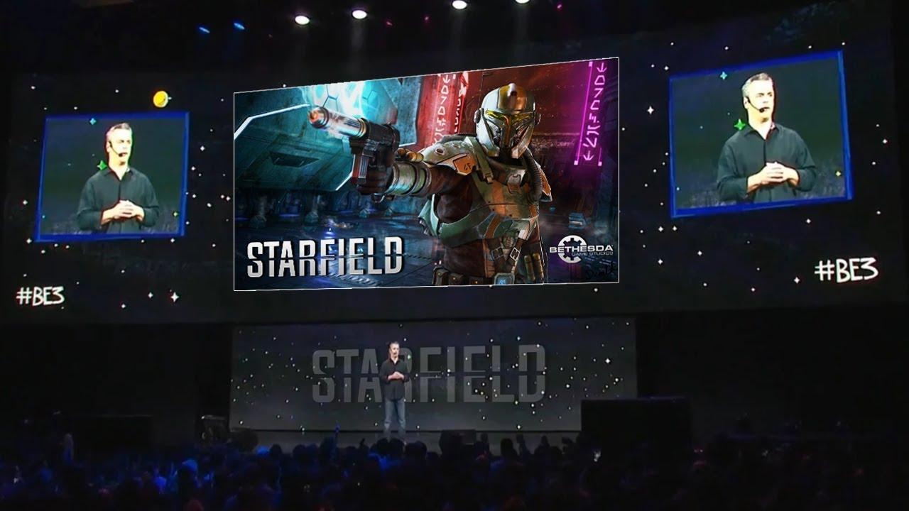 Starfield Bethesda anunțat